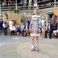 What To Wear In Capri (According To Dolce & Gabbana) | The Zoe Report