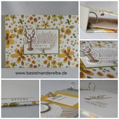 basteln an der Elbe, Minialbum, Ringbuch, Rezeptbuch, Stampin Up!, By the Tide