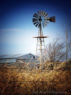 Oklahoma Windmill   ..rh