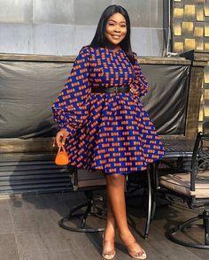 Short Ankara Dresses, Short African Dresses, Ankara Dress Styles, African Print Dresses, African Prints, Ankara Gowns, African Fabric, Best African Dress Designs, Ankara Dress Designs