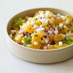 Mexican Clementine and Jicama Salsa | Recipes | Weight Watchers