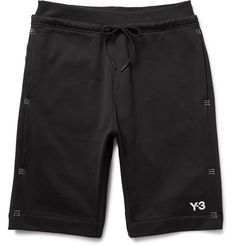 Tack Stitch-Detailed Loopback Cotton-Jersey Shorts | MR PORTER