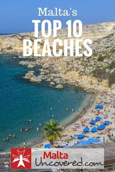 Although there's so much more to Malta than its sunny weather and beach holidays, there's no denying the island offers some beautiful beaches to chill out at: http://www.maltauncovered.com/travel-guide/best-beaches/