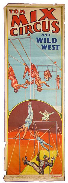 Tom Mix Circus And Wild West  Poster