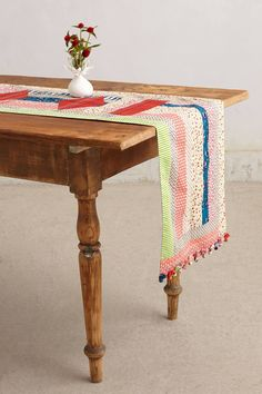 Quilted Table Runner - anthropologie.com