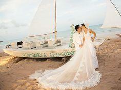 Casamento Celebridades | Gustavo Medeiros e Daniela Sampaio