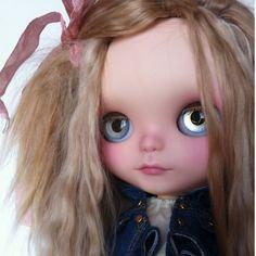 'Brianna' OOAK Blythe doll by Sharon Avital