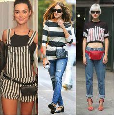 A pochete está de volta! E já tem várias famosas aderindo à moda http://glo.bo/1BG17cR