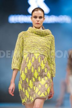Berenika Czarnota fashion show at Fashion Week Poland  Lodz. October 25th, 2012.