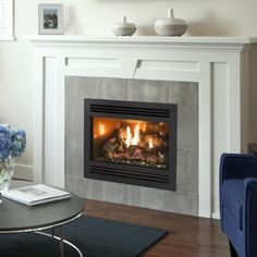 The Pacific Energy | Casco | Flush Fireplace delivers outstanding performance, cost saving efficiency and is easy to operate.