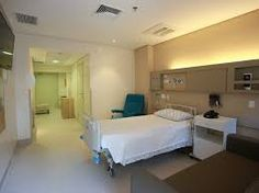 Resultado de imagem para quarto de hospital  São Jose em são paulo