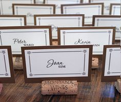 Sparkle & Hay Wedding Blog: Inspirations for a Rustic Chic Wedding: Paper Love: Vineyard Style by Ruby & Willow