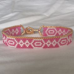 Beaded Bracelet. Seed bead bracelet. Peyote Bracelet. Summer Jewelry. Beach…