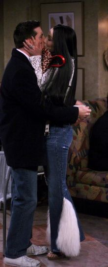 Cher Kissing Jack from Will & Grace