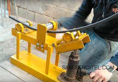 Metal Bending Tools, Metal Working Tools, Metal Tools, Mechanical Engineering Design, Engineering Tools, Welded Furniture, Steel Furniture, Welding Tools, Welding Projects