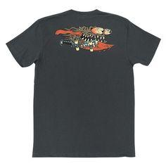 Santa Cruz Skateboards: Tees & Tops: Vintage Slasher S/S T Shirt