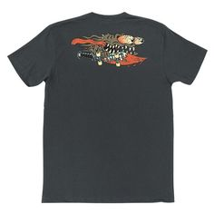 Santa Cruz Skateboards: Tees & Tops: Vintage Slasher S/S T Shirt