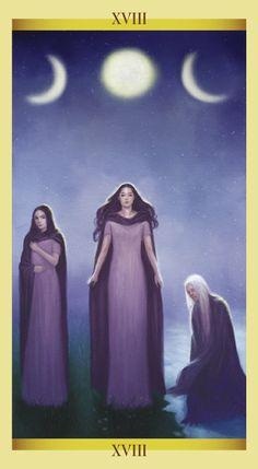 The Moon - Tarot of the Sacred Feminine