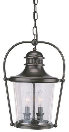 hanging hall lights | Troy Lighting Guild Hall Outdoor Hanging Lantern TR-F2037EB