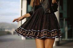 Lightning strikes in this dress! #FabFashion