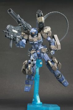 gunjap:  G-Work of The Day: HGUC 1/144 Jesta Cannon (Custom Work). Full Photoreview No.25 Big Size Images