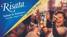 8/25. Risata® Salute to Summer Giveaway. Win 1 of 2 $500 Visa Cards!