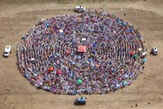 powerful Yoga meditation in a Yang Spiral formation