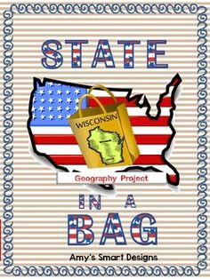 This State in a Bag project helps your students develop research and presentation skills. As students research their chosen state they create a project that will teach the class about that state's geography, economy, sports, history, resources, and tourism. They really enjoy making these projects, but they really enjoy watching to see what objects their classmates put in their bags. 10 pages