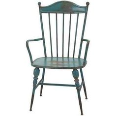 Vintage Westfield Metal Arm Chair, Chairs,Iron, by Benzara