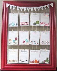 Birthday bulletin board...so cute!