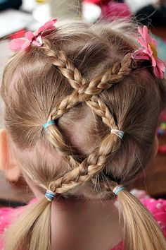 39 best Kid Hairstyles images on Pinterest | Easy hair, Kid ...