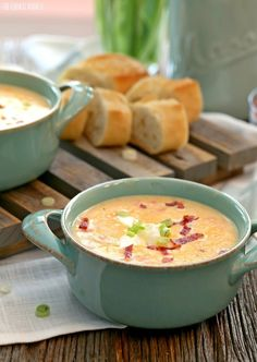 Slow Cooker Skinny Loaded Potato Soup, healthy comfort food!!!   The Cookie Rookie