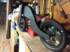 Custom painted Prince Lionheart balance bike