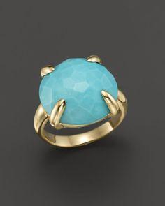 Ippolita 18K Gold Turquoise