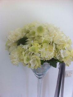Vase haut en centre de table