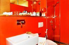 #Warm and cozy #bathroom in VALDONICA.