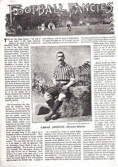 César Augusto Jenkyns. (NEWTON HEATH FOOTBALL CLUB)
