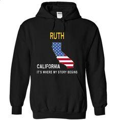 RUTH - Its Where My Story Begins-dczem - #tee trinken #sueter sweater. ORDER HERE => https://www.sunfrog.com/States/RUTH--Its-Where-My-Story-Begins-dczem-Black-15023454-Hoodie.html?68278