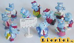 Alle 10 Figuren der Happy Hippo Company (Komplettsätze)
