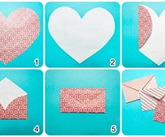 DIY love envelopes cute