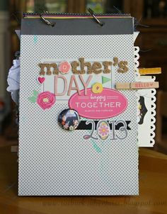 Mother's Day Mini Album *American Crafts* - Two Peas in a Bucket