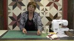 The Big Star Quilt - Quilting Made Easy!, via YouTube.