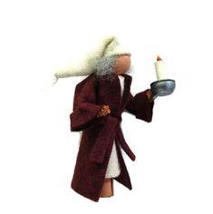 Ebenezer Scrooge Christmas Ornament Bedtime Scrooge | Etsy