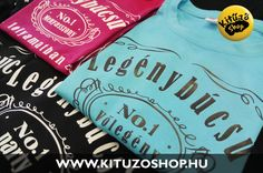 Legénybúcsú pólók és kitűzők Night, Sweatshirts, Party, T Shirt, Wedding, Shopping, Tops, Women, Fashion
