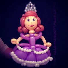 Sophia the First Balloon Princess. Shirley Ray design.