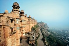 #India is on our hot list for the best places of 2014—stop by ancient sites like the Gwalior Fort to make your trip a learning vacation.
