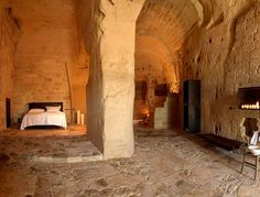 Situated in ancient caves, the 18 rooms of this astonishingly unique hotel in Southern Italy is achingly romantic.