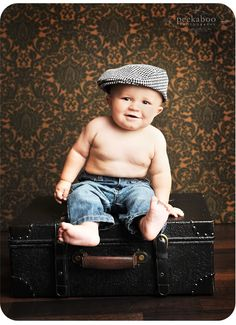 baby photography trunk suitcase prop