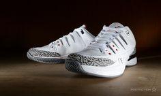 Nike Zoom Vapor Jordan 3 White Cement