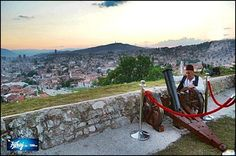 #Cannon  signal during Ramadan ,,#Sarajevo,,,Bosnia and Herzegovina